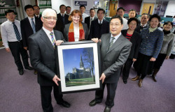 Chinese Delegates Visit the Property Ombudsman