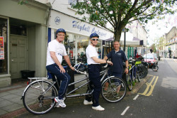 Tandem Effort Supports Big Charity Bike Ride